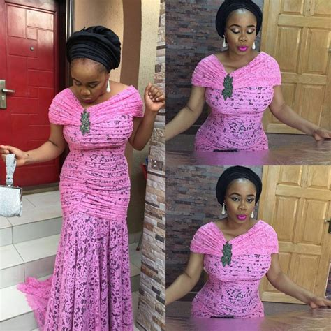styles of purple cordlace top ten beautiful and awesome cord lace aso ebi styles you