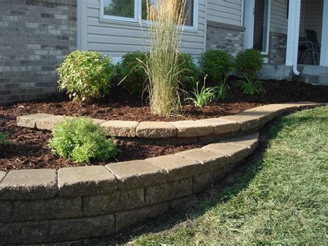 retaining wall designs minneapolis minneapolis hardscaping gallery curbside landscape