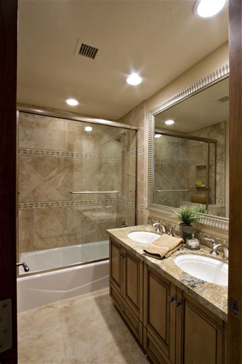 bathroom tile ideas houzz aster drive bath remodel traditional bathroom by davis design