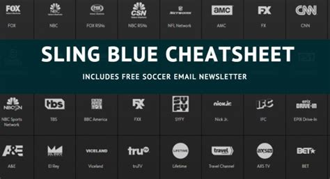 sling world cup get your free sling blue cheatsheet for cord cutters and