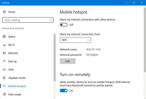 mobile wifi connection turn windows pc into wifi hotspot via connection