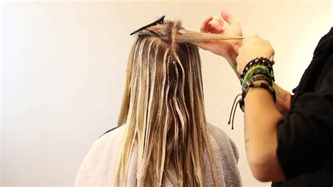 how to section hair for ombre balayage tutorial how to balayage full head balayage