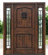 Rustic Exterior Doors Knotty Alder Doors Western Style Western Exterior Doors