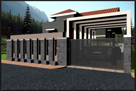 Cctv Untuk Rumah Tinggal model pagar rumah minimalis batu alam rumah minimalis