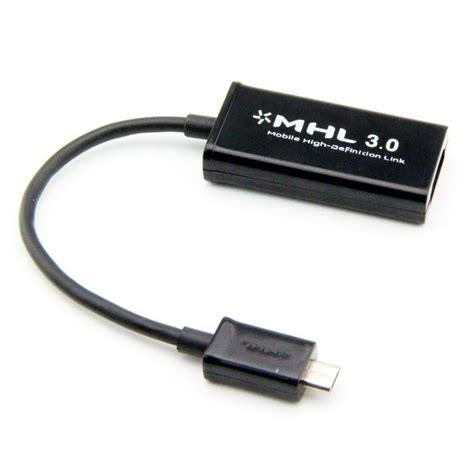 Micro Usb To Hdmi Mhl Adapter mhl 3 0 cable micro usb to hdmi adapter samsung galaxy tab s