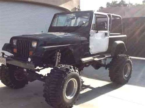 jeep wrangler, 1987 yj lifted 4inch leaf springs and