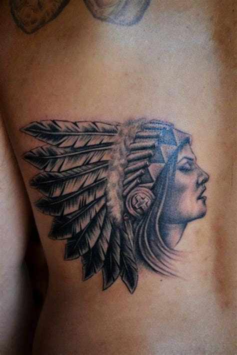 indian chief tattoo indian tattoos design and ideas