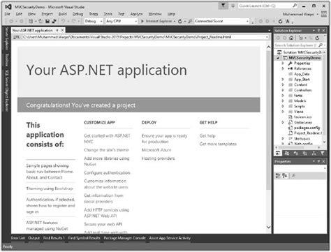 tutorial asp net security asp net mvc security