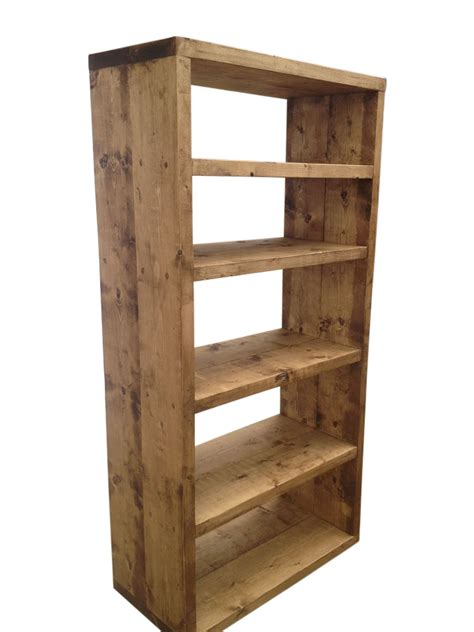 the rustic bookcase ely rustic furniture