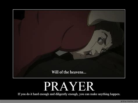 Prayer Meme - prayer anime meme com
