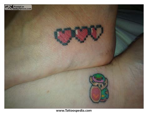 zelda couple tattoos pin couples tattoos 1 anny imagenes on