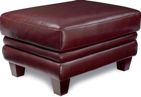 la z boy ottoman julius leather ottoman by la z boy wolf furniture