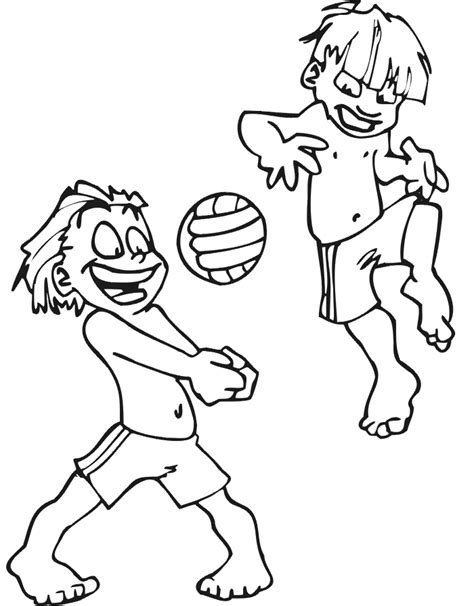 volleyball coloring pages pdf free printable volleyball coloring pages for kids