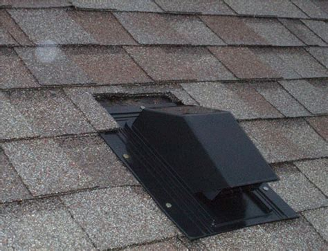 venting fan through roof bathroom vent fan roof cap doityourself com community forums