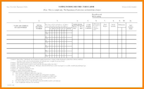 10 Sle Of Payroll Sheet Sles Of Paystubs Payroll Template Sheets