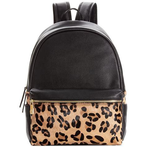 Steve Madden Backpack by Steve Madden Bmonako Backpack In Black Leopard Lyst