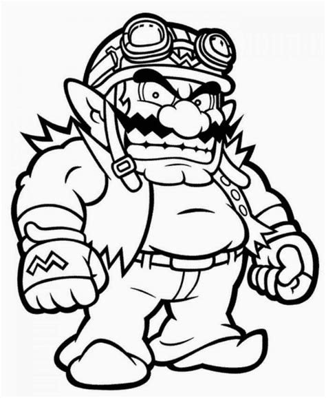 super mario coloring sheets printable brothers all characters page