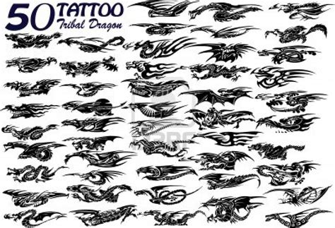 small tribal dragon tattoos tribal banner designs 28 images 50 cross