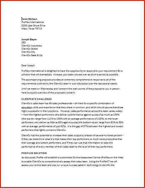 Business Letter Writing Scenarios A Business Templated Business
