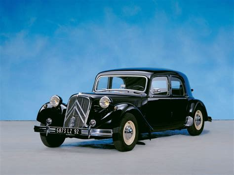 Citroen Traction Avant by 1934 Citroen Traction Avant Meilensteine