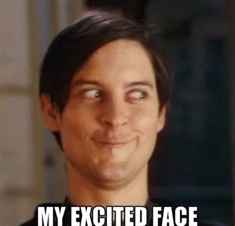 Excited Face Meme - excited meme huge collection of so excited memes