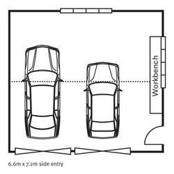 Dimensions Of 3 Car Garage double garage plans amp designs versatile homes amp buildings