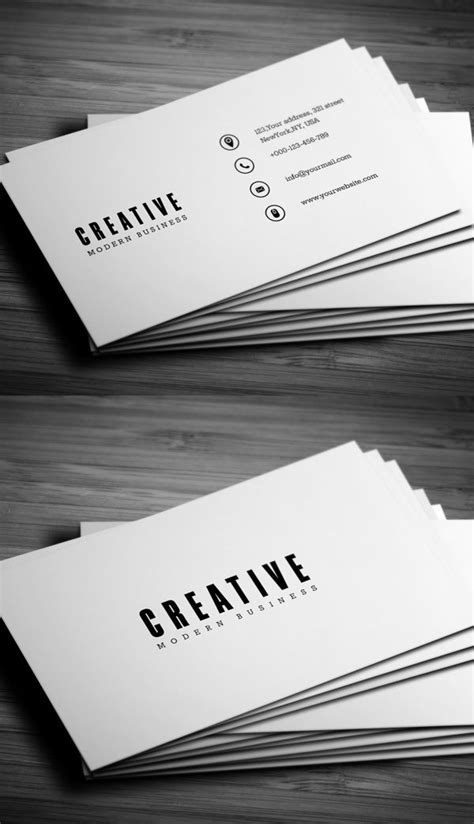 best back cards best 25 minimal business card ideas on black