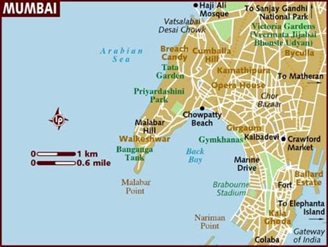 mumbai map satellite bombay map and bombay satellite image