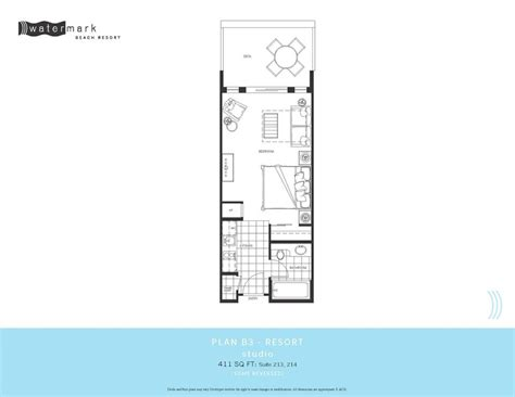 watermark floor plan watermark condos own watermark resort
