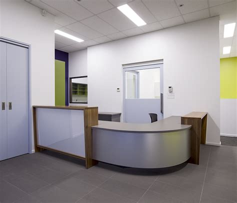 Port Corporation Aspect Commercial Interiors Reception Desk Perth