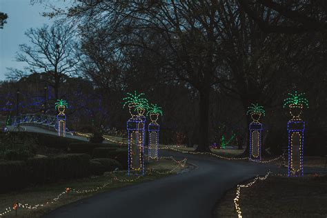 Botanical Garden Of Lights Dominion Garden Of Lights At Norfolk Botanical Garden
