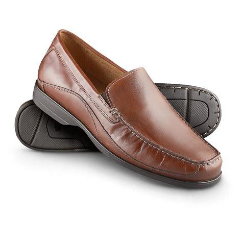 s florsheim 174 engler moc toe shoes chestnut 217923