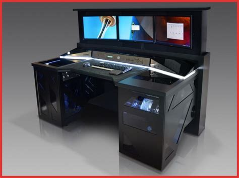 custom gaming computer desk gaming computer desks uk furniture escritorio