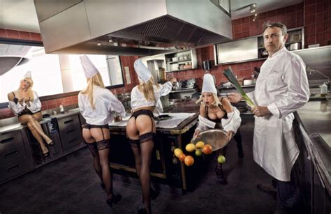 photos originales de grands chefs cuisiniers