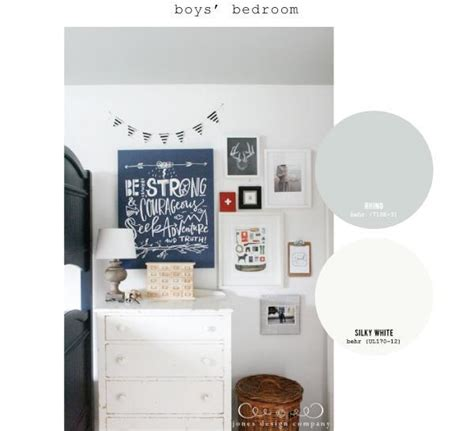 paint colors used in our home jones design company