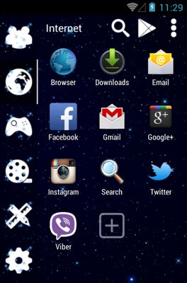 galaxy themes for android galaxy android theme for smart launcher 2 androidlooks