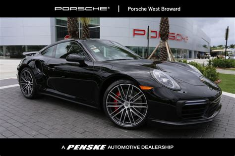 2017 black porsche 911 turbo dealer inventory 2017 porsche 911 turbo coupe rennlist