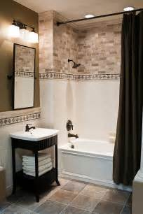 Small Bathroom With Bath And Shower