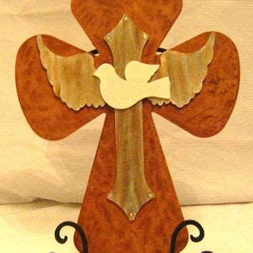 Handmade Crosses For Sale - handmade dove cross wing from seedsoffaithshop