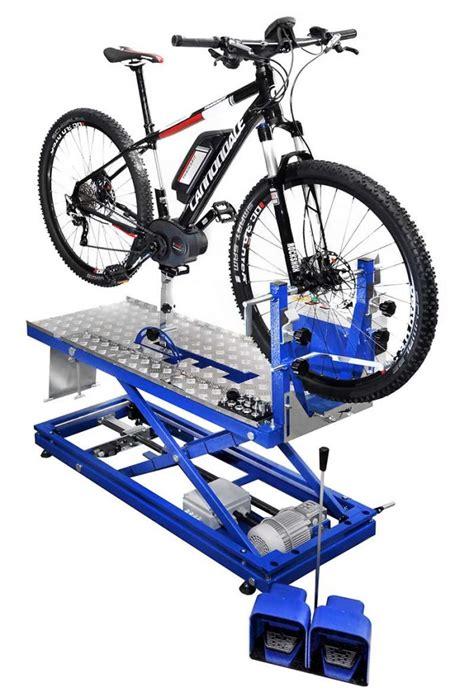 banco lavoro bici banco elettrico manutentenzione di tutte le biciclette