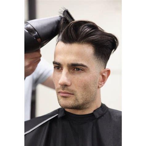 blast fade hairstyle mid blow dry on joe s lowered undercut wedge shaped cut