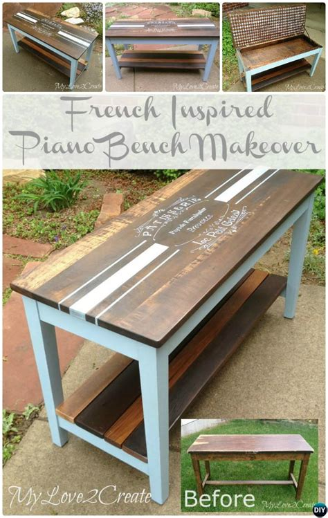 diy piano bench plans 20 best entryway bench diy ideas projects picture