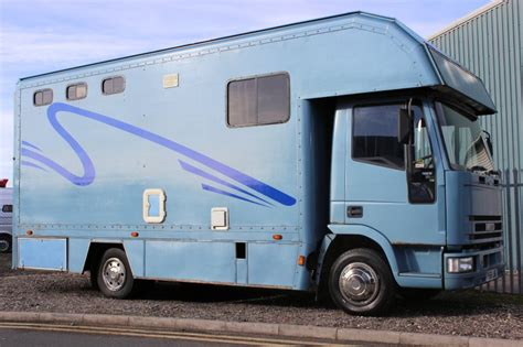 horseboxes for sale 7 5t compact horsebox for sale iveco used horsebox