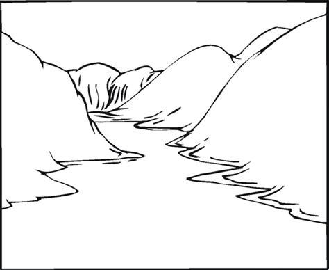 river landscape coloring pages sketch coloring page