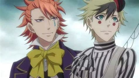 black butler book of circus joker and dagger black butler jokers