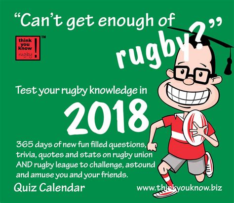can t get enough of rugby desk calendar 2018 calendar store