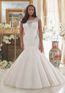 wedding dresses plus size dazzling beaded embroidery on tulle plus size wedding dress morilee