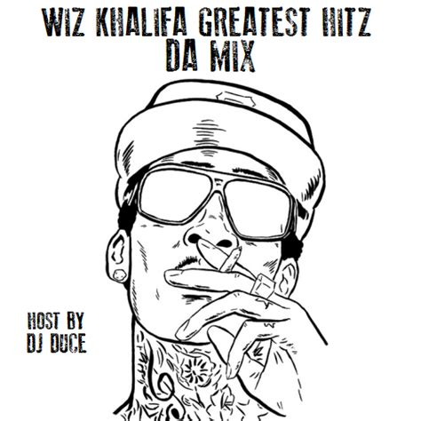 coloring book datpiff wiz khalifa greatest hitz da mix hosted by dj duce