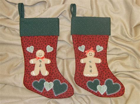 gingerbread boy christmas stocking by sher patterns
