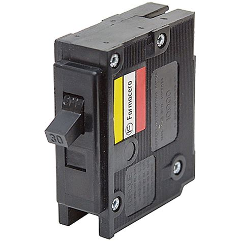 broken circuit breaker 30 1 pole circuit breaker hqp1030 westinghouse